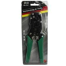 White Label OB-318 Crimping Tool & Networking Plier - Green