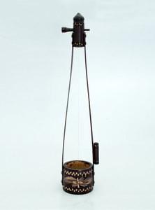 Handmade Native One Stringed Musical Instrument Known As Ektara In Bangladesh
