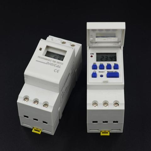 AHC15 AC 220v Digital LCD Programmable Power Timer Time Switch Relay