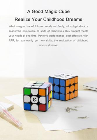 M3 Magnetic Cube 3x3x3 Vivid Color Square Magic Cube Puzzle Science Education Toy