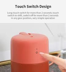 VH Desktop Air Humidifier 420ml quiet air purifier touch control for room air conditioners