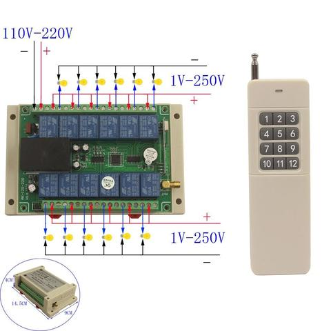 12 Channel Remote Receiver & Transmitter