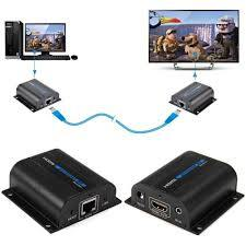 60M HDMI Extender CAT6 with IR Control