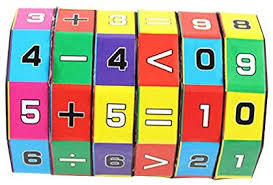 Educational Toy Children Kids Mathematics Numbers Magic Cube Toy Puzzle Game Educational Learning Creative Toy