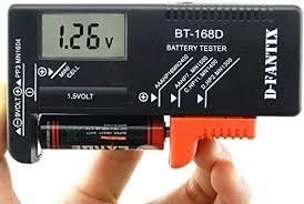Digital Battery Tester BT-168D