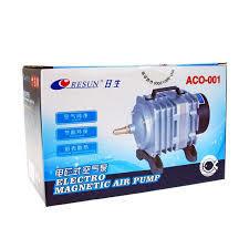 NEW Resun ACO-001 High Quality18W 38L/mini Aquarium Fish Tank Pond Electromagnetic Air Compressor Pump