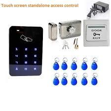 Standalone Touch Access Control System Full Set