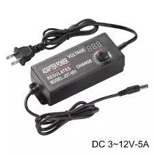 3-12v 5a Adjustable Adapter Switching Power Supply led Volt Display