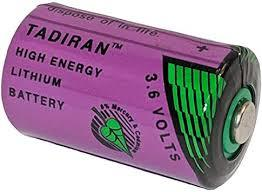 TADIRAN BATTERIES TL-2150/S LITHIUM BATTERY, 3.6V, 1/2AA 1 piece