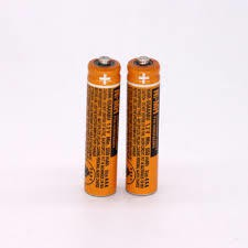 2pcs AAA Rechargeable NI-MH battery Panasonic cordless phone