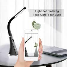 ERAY LED Desk Lamp 5W 3 Brightness Levels Leather & Material Modern Design Memory Function Low Energy Consumption