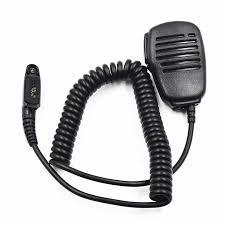 Handheld Speaker Mic For Radio