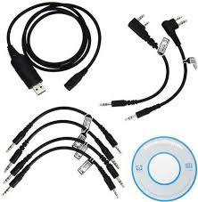 6 in 1 USB Programming Cable For Radio