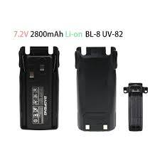 UV-82 BL-8 1800mAh 7.4V li-ion battery for Baofenge UV82 UV-8D UV-82HP two way radio