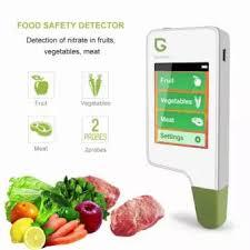 Greentest Eco5F All-In-One Food Nitrate Checker Meat Fruit Fish & Vegetable + Radiation Detector + Water TDS Meter