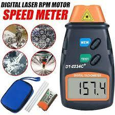 Digital Laser RPM Tachometer Non Contact Measurement Tool