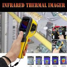 HT-02D Handheld IR Thermal Imaging Camera Digital Display Infrared Image
