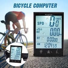 CoolChange C-204 Wireless Bike Computer Waterproof LCD Cycling Speedometer