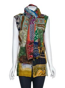 Nakshi Kantha Embroidered Scarf for Women
