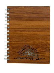 Wooden Cover Diary