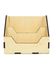 Wooden Visiting Card Holder for Desk