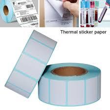 Thermal Label Sticker Barcode Printer Paper 800pcs