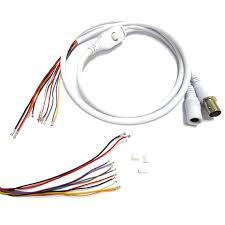 CCTV Connection Cable Support Any Brand Camera 2Pcs