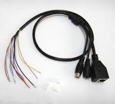 CCTV IP network camera Cable