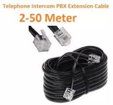 Telephone / Intercom PBX Ready Cable Extension RJ11