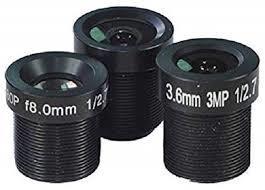 Lens for CCTV Cameras Arduino Telephoto Macro, Wide Angle Fisheye Lens