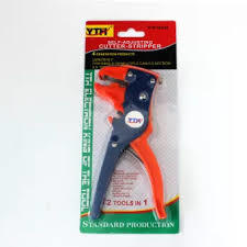 2 in 1 Insulation Wire Cable Stripper Cutter Plier Self-adjusting Hand Crimping Plier Cutting Tools