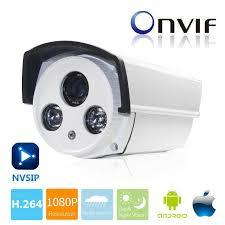 CCTV IP Camera 1920 2MP Support Any NVR With Power Supply & Bracket