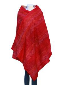 Embroidered Cotton Shawl