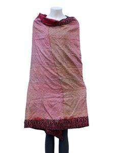 Embroidered Silk Shawl