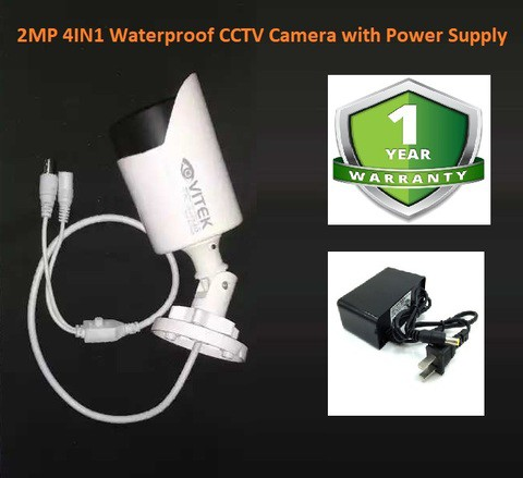 4-In-1 2MP 1080P AHD TVI CVI CVBS IR Waterproof CCTV Camera Support Any Brand DVR XVR HVR