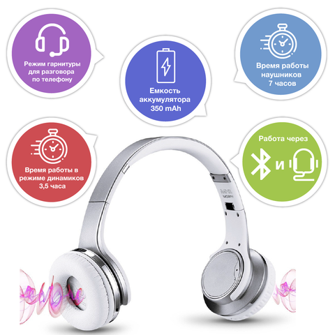 SODO MH1 NFC 2in1 Twist-out Bluetooth speaker Earphone Wireless Headphone with Microphone
