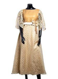 Silk Satin Ladies Gown