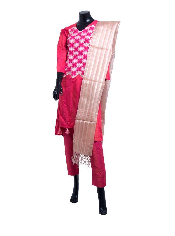 Appliqued Salwar Kameez Set for Women