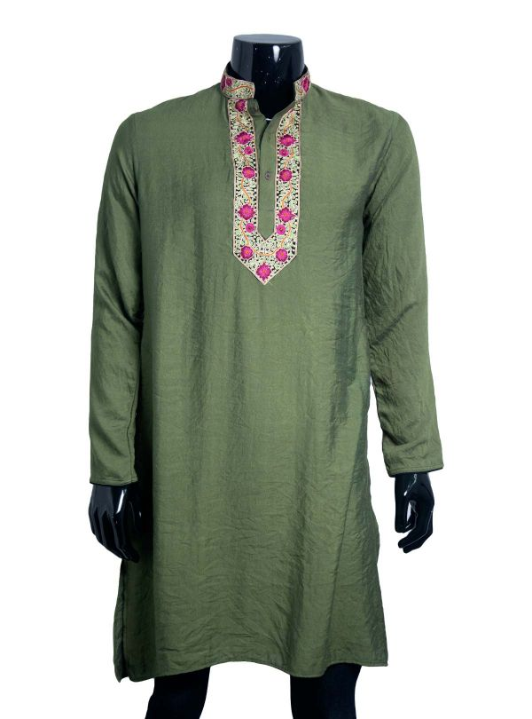 Silk Panjabi for Men