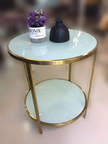 50006/glass Top Tea table