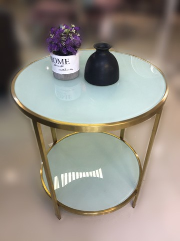 50006/glass Top Tea table