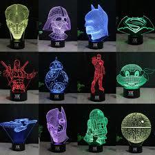 Creative 3D visualization lamp