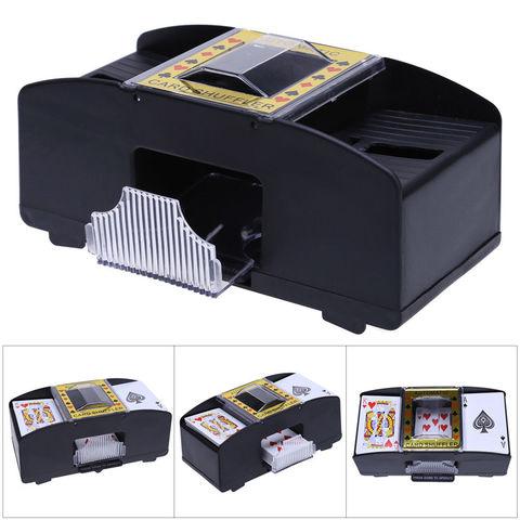 Card Shuffle Automatic Plastic Card Shuffler Shuffles Card Machine