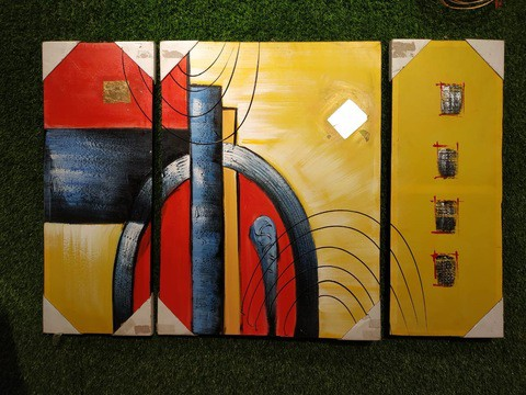 3 pieces Painting Set/016