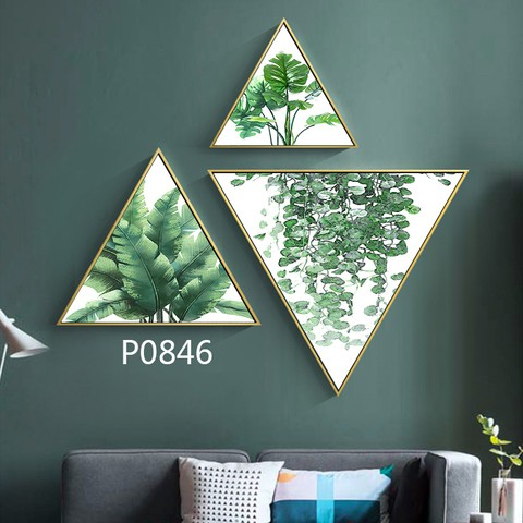 3 pieces Triangular Painting Set/02
