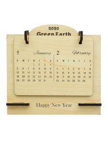 Wooden Calendar for Desk