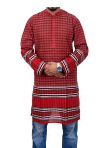 Gamcha Printed Panjabi for Men