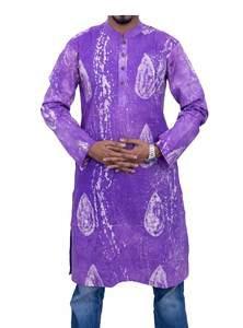Batik Cotton Panjabi for Men