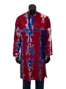 Tie-Dyed Cotton Panjabi for Men