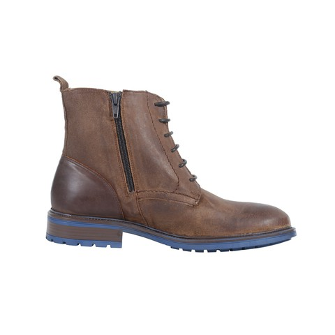 Brown Leather Boot for Men-081805